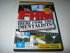 Here Come The Mentalists - Volume One - FHM - Extreme Sports - DVD - Region 4