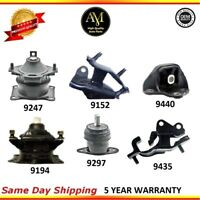 Engine Motor & Automatic Trans. Mount Set 6Pcs For Acura TSX 04/08 L4 2.4L