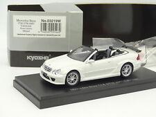 Kyosho 1/43 - Mercedes CLK AMG DTM Cabriolet Blanche
