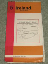 Ireland: Ordnance Survey map 5: Ireland South West - scale 1:250,000 - 1969 edn