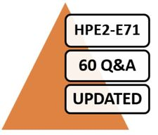 Introduction Selling HPE Products Solutions and Service HPE2-E71 Exam 60 Q&A PDF