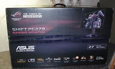 "ASUS ROG Swift PG279Q 27"" Monitor, 1440P QHD (2560 x 1440), IPS, 165Hz, G-SYNC"