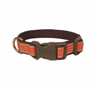 Boots & Barkley Neoprene Cushion Dog Collar - Coral Khaki