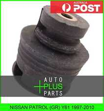 Fits NISSAN PATROL (GR) Y61 1997-2010 - Body Mount Bush Rubber Bush Bush
