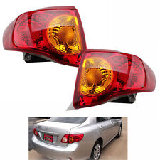 Set Rear Tail Light Brake Signal Taillight k Lamp For Toyota Corolla 2009 2010