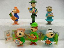 YOGI BEAR Kinder componibili 1a-2a 1995 + Zaini (entra e scegli il personaggio)