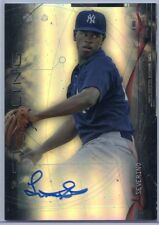 2014 Bowman Sterling Ref Refractor Luis Severino Rc Auto # 011/150