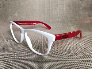 Oakley Frogskins Polished White Acid Pink Crystal Sunglasses Frame No Lens Mixed