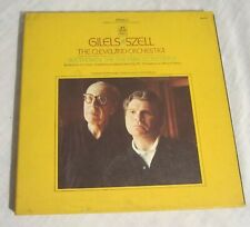 EMIL GILELS + GEORGE SZELL + Cleveland Orch - 5-LP Box, ANGEL SE-3731, Beethoven