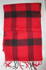 Sublime Echarpe en  100% PURE LAINE VIERGE foulard TBEG  vintage scarf