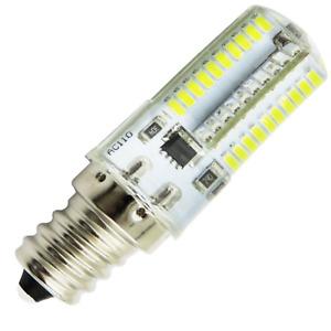 E12 C7 Candelabra LED Light Bulb 80 3014SMD 110/220V Dimmable Silicone Crystal