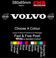 Volvo Windscreen Vinyl Decals Sticker Kit Truck Replacement Sticker Unofficial