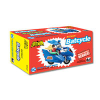 DC Comics Retro Batman Batcycle Playset: Blue by FTC