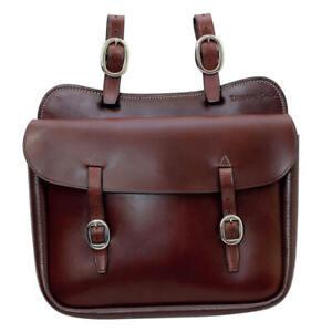 Toowoomba Saddlery Tanami Tack Q1 Large Holdall Saddle Bag Chrome Plated Buckles