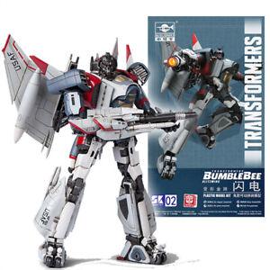 "Transformers Bumblebee Blitzwing Plastic Smart Model Kit 4"" Figure Trumpeter New"
