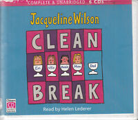 Jacqueline Wilson Clean Break 6CD Audio Book Unabridged Helen Lederer FASTPOST