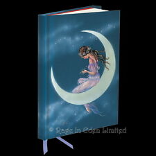 *FAIRYLAND MOON MAIDEN* Fairy Art Foil Embossed Hardback Journal / Notebook