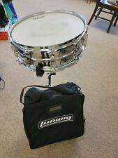 Ludwig Snare Drum W/ Backpack Case and Stand 6x14