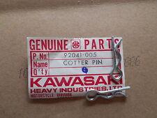NOS Kawasaki Cotter Pin 1976-1981 KM100 A1 A2 A3 A4 A5 A6 A7 92041-005 QT2
