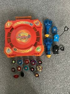 Beyblade Metal Fusion Rare Carrycase, Launcher Set, Etc
