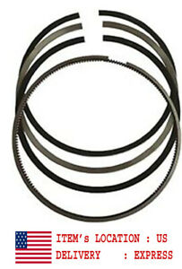 "AR12098 Piston Rings Set for Cummins NH220 5.125"" 130.175mm Standard"