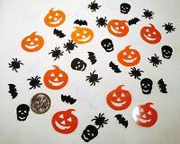 Wedding Table Scatters Foil Confetti Spooky Pumpkin Halloween Mix