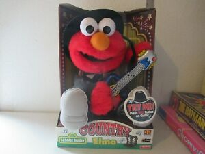 """Sesame Street """"Country Elmo"""" doll NEW IN PACKAGE Fisher Price 2000"""