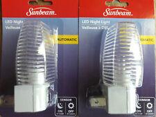 "2 x ""LED Automatic NIGHT LIGHT""s [Sensor operated: On @Dusk, Off @Dawn],2 Lights"