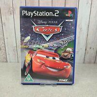 Disney Pixar Cars (Sony PlayStation 2, 2006) w/ Manual *Free UK Postage*