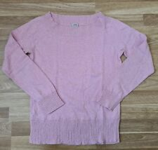 Esprit  Women Ladies Jumper Top Size L Pink