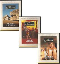 LOST CIVILISATION - 3 DVDS READER'S DIGEST GREECE ROME EGYPT MESOPOTAMIA MAYA