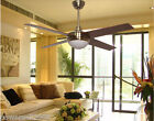 2024 Simplicity 52 Inches 2 Lights D132 CM Remote Control Ceiling Fans Light