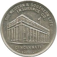 1916 Western & Southern Life Insurance Co. Cincinnati, Ohio OH Advertising Token