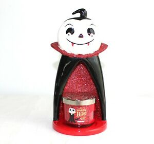 Bath and Body Works Rare Vampire Candle Holder Halloween Table Decor