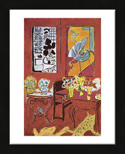 FRAMED ART Large Interior, 1948 by Henri Matisse Print Contemporary Frame 13x16