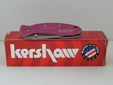 Pink Farmall Folding Pocket Knife made by Kershaw