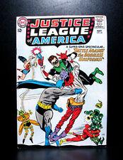 COMICS: Justice League of America #35 (1965), 1st SA Killer Moth/the Mask app