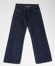 MENS TOMMY HILFIGER DENIM JEANS CLASSIC FIT NAVY SIZE W30 L30 30/30 MINT