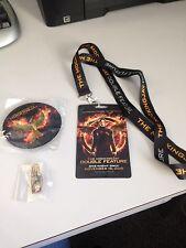 The Hunger Games Mockingjay Pin,Three Finger Salute Pin and Lanyard