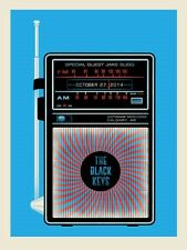 The Black Keys Calgary Alberta 10/27/2014 Poster Signed & Numbered #/225