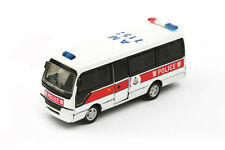 Tiny City #03, Toyota Coaster Hong Kong Police Vehicle, Diecast