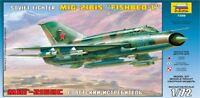 Zvezda 7259 - 1/72 Russischer Kampfjet Mig 21Bis Fishbed-L - Neu