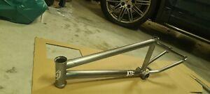 S&M BMX Frame - ATF Frame - polished 20.5