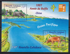 Nouvelle Caledonie 1997 Expo Honk-kong Chinese New year Buffalo Luxe