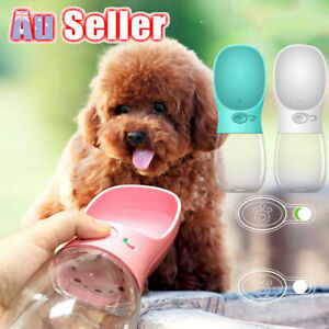 NEW Dog Cat Water Bottle Drinking Cup Feeder Portable Puppy Pet Travel Bottle
