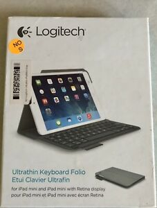 Logitech Ultrathin Keyboard Folio for iPad mini & iPad mini Retina - Veil Grey