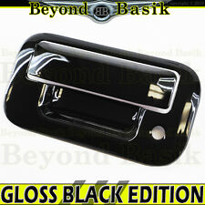 2004-2014 FORD F150 GLOSS BLACK Tailgate Handle Cover Overlay No Camera Hole