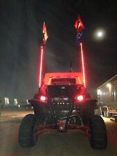 2- 6 ft. Xtreme LED lighted whip, (Pair)