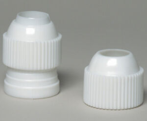 Ateco Medium Coupler, Plastic, 3 Pc. - Fits Med. & Std. Size