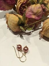 Hook Pearl Gold Filled Handcrafted Earrings
